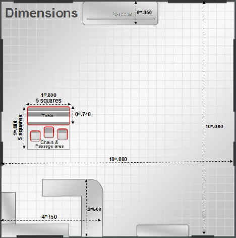 Ruimsig Golf View Manors Conference Room Table Layouts - Conference room table dimensions